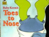 Baby Kermit Toes to Nose