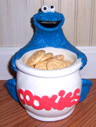Lewco 1989 toy cookie monster jar 1