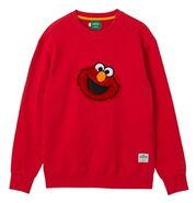 Pancoat sweatshirt elmo red turn
