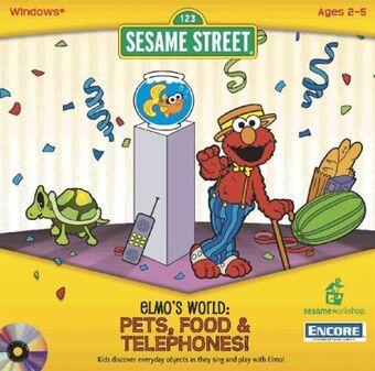 Elmo S World Pets Food Telephones Muppet Wiki Fandom
