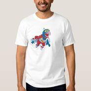 Zazzle gonzo flying shirt