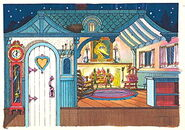 Colorforms 1978 sesame mother goose stand-up play set 8