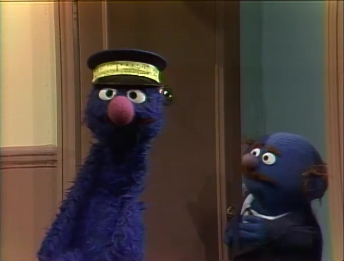 Grover and Mr  Johnson | Muppet Wiki | FANDOM powered by Wikia