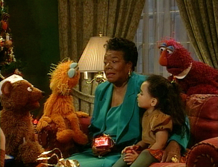 maya angelou elmo saves christmasjpg - Sesame Street Elmo Saves Christmas