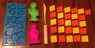 Playskool play-doh 1994 abc company set 3