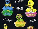 Sesame Street stickers (Sandylion)
