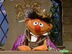 Ernie as Old King Cole