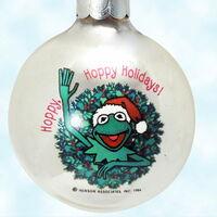 Hallmark 1984 ornament frog