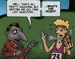 Kazagger comic
