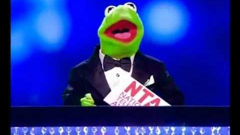 Kermit The Frog at the National Television Awards 2012