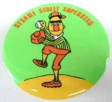 Sesame button superstar bert