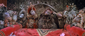 Skeksis at death bed