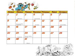 1978 calendar 10 October b