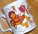 Fraggle Rock mugs (Kiln Craft)