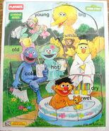 Playskool 1994 frame tray puzzle park