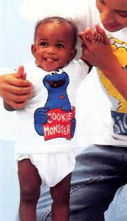 Sesame catalog shirt cookie monster