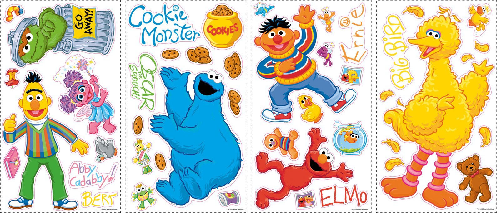 Sesame Street Wall Decals (RoomMates) | Muppet Wiki | FANDOM Powered By  Wikia Part 34