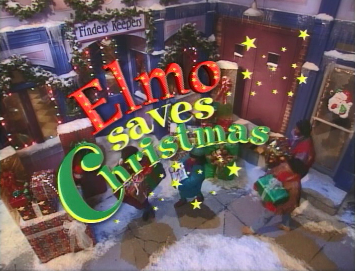 titleelmosavesxmas - Sesame Street Elmo Saves Christmas