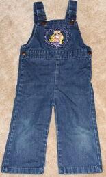 Calamity jane overalls piggy 2