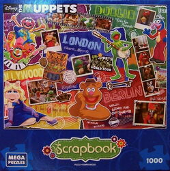 Mega puzzles 2015 muppets most wanted puzzle
