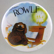 Muppet show button pin badge uk rowlf
