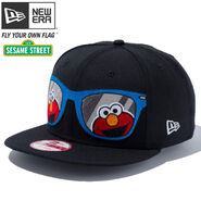 New era elmo glasses cap