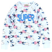 Peter alexander sesame girls spuper grover top