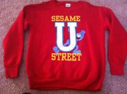 Sesame street general store sesame u sweat shirt