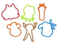 Disney bands muppet