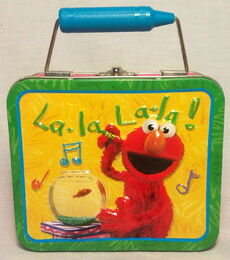 Elmo's world lunchbox 2005 msrf
