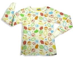 Junk food long sleeve face shirt