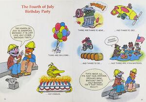 Sesame Seasons 4th of July