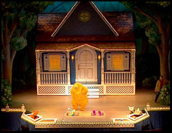 set of bear in the big blue house live - Big Blue House