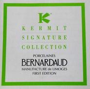 Bernardaud limoges kermit globe box 5