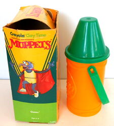 Crayola 1982 clay time muppets 2