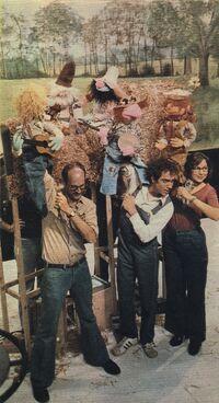 Jugband muppeteers