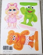Muppet babies paper doll book 5