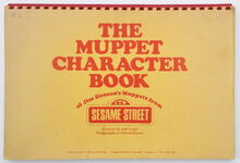 Muppet character book 1