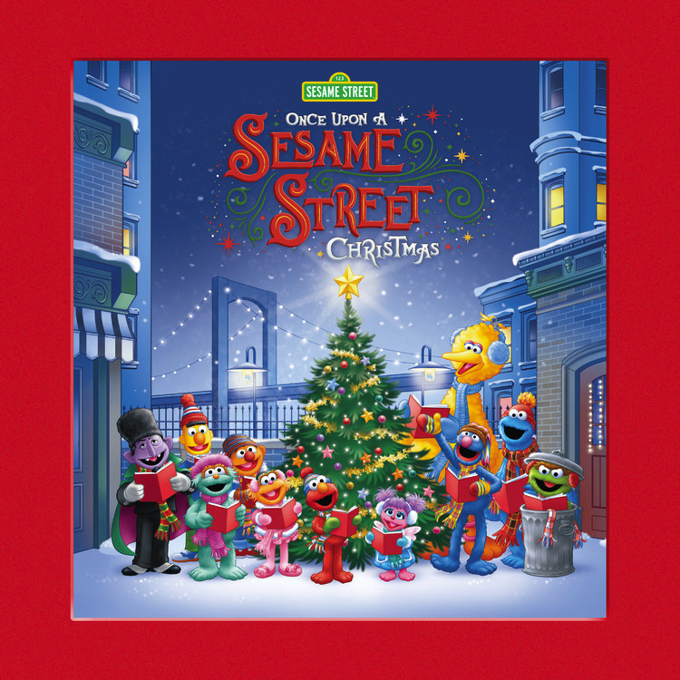 Once Upon A Sesame Street Christmas (book)