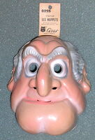 Cesar french statler mask 1970s