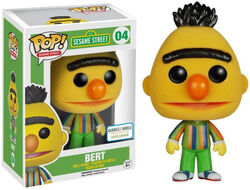 Funko-POP Bert flocked barnes & noble