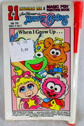 Lee publications when i grow up muppet babies invisible painting book 1