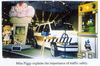 Miss piggy safety show