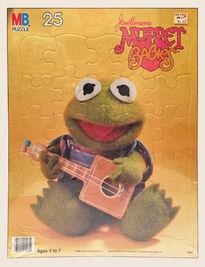 Muppet Babies Milton Bradley puzzle Kermit