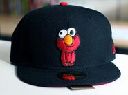 Sesame zombies new era cap elmo