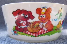 Deka 1986 muppet babies bowl and cup 3