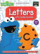 LettersWithCookieMonsterEducationalWorkBook