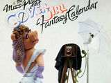 The Miss Piggy Cover Girl Fantasy Calendar