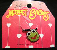 Irwin toy 1984 muppet babies kermit toy ring