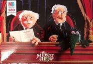 Milton bradley muppet puzzle statler waldorf
